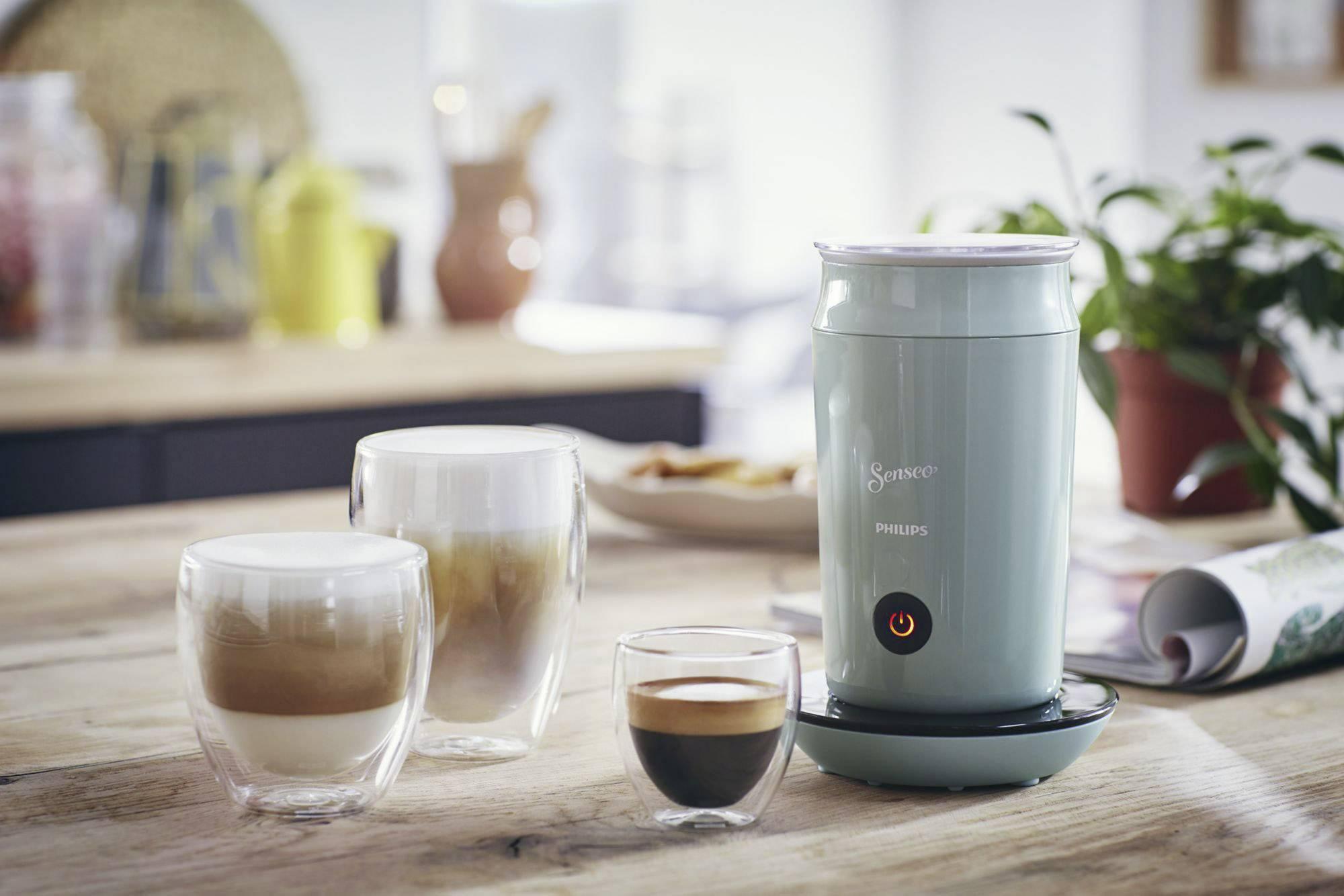 SENSEO® Milk Twister CA6500/10 naprava za penjenje mleka svetlo zelena 500 W