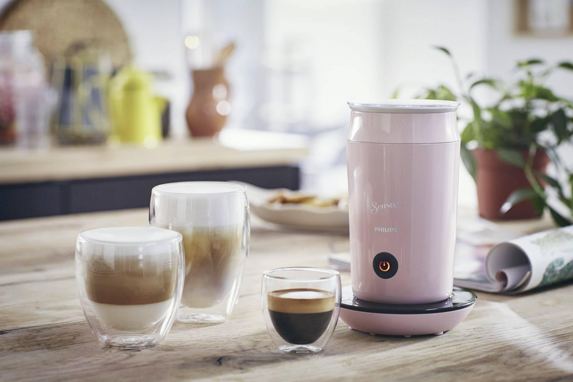 SENSEO® Milk Twister CA6500/30 naprava za penjenje mleka roza 500 W