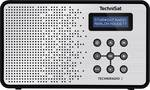 TechniSat TechniRadio 2 prenosni radio DAB+, UKW črna, srebrna
