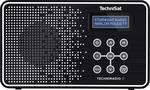 TechniSat TechniRadio 2 prenosni radio DAB+, UKW črna, bela
