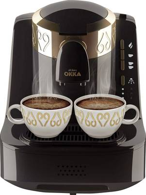 arzum Okka kavni avtomat za turško kavo črna, bakrena