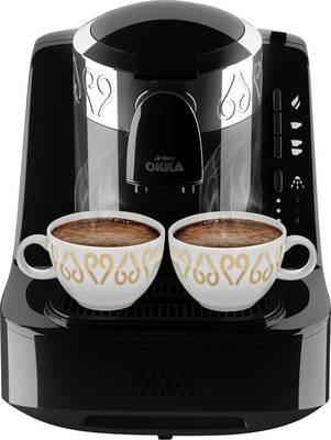 arzum Okka kavni avtomat za turško kavo črna, srebrna