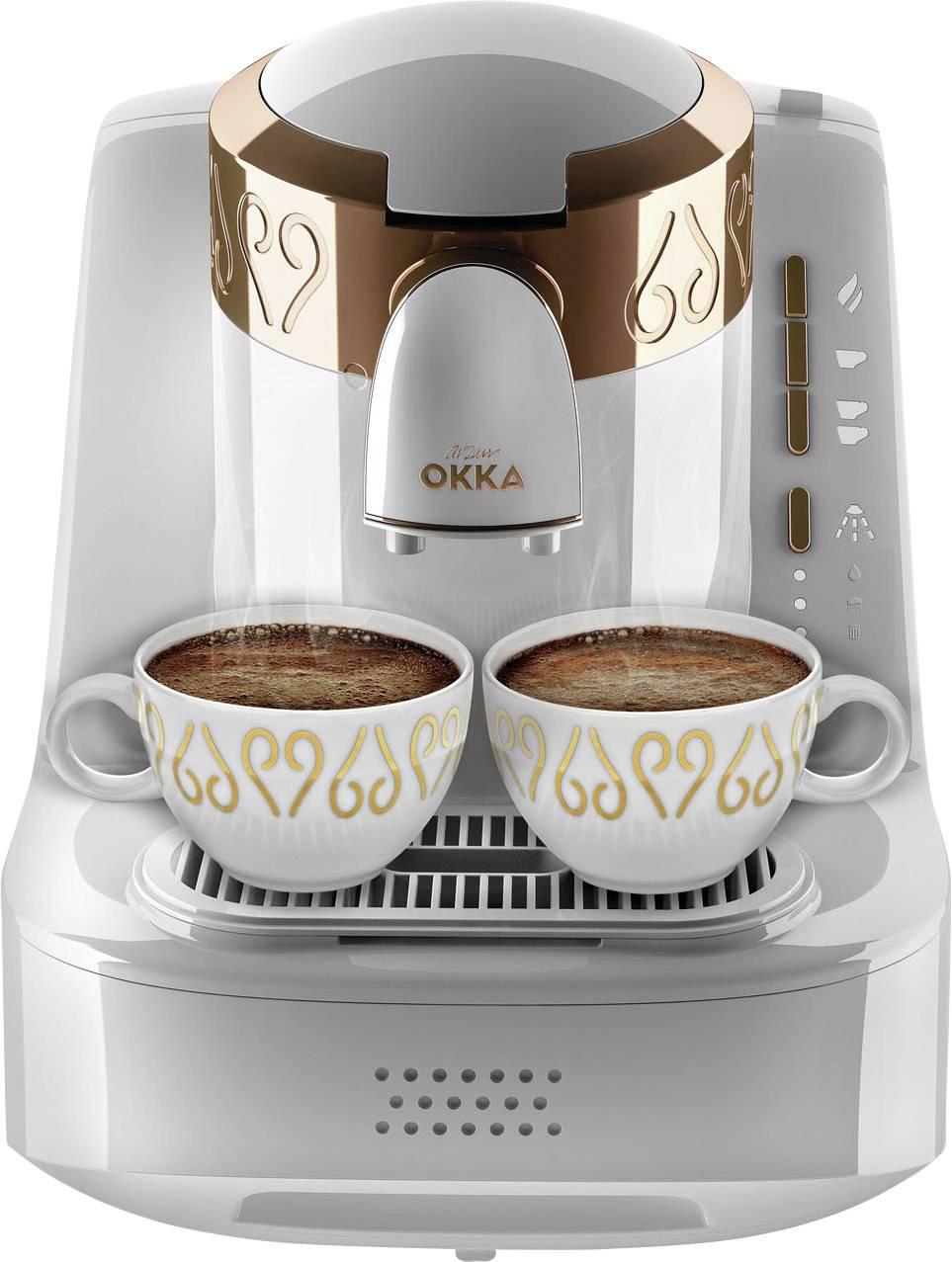 arzum Okka kavni avtomat za turško kavo bela, bakrena