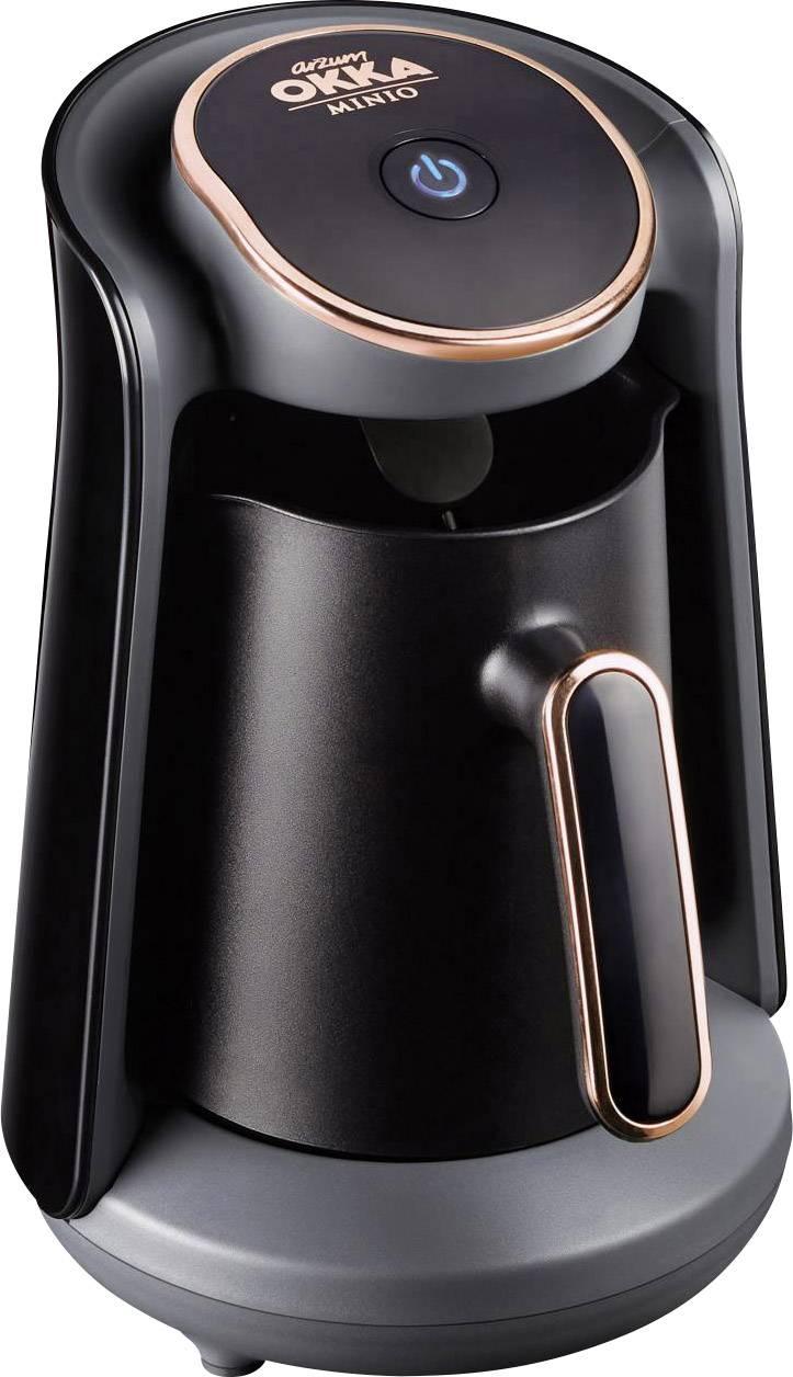 arzum OKKA MINIO kavni aparat za turško kavo črna, bakrena