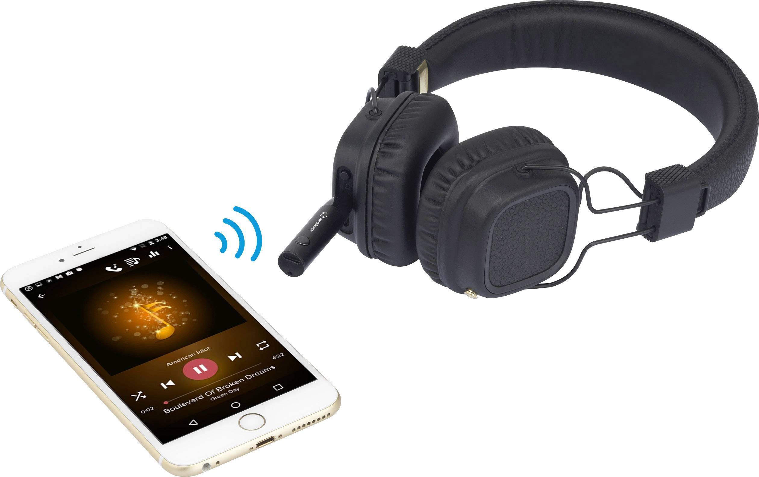 Renkforce RF-BTR-1000 Bluetooth® sprejemnik glasbe Bluetooth: A2DP, AVRCP, 5.0 10 m za slušalke