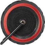 Renkforce AdventureWheel1 Bluetooth® zvočnik zunanji zvočnik, zaščita pred pršečo vodo, aux črna, rdeča