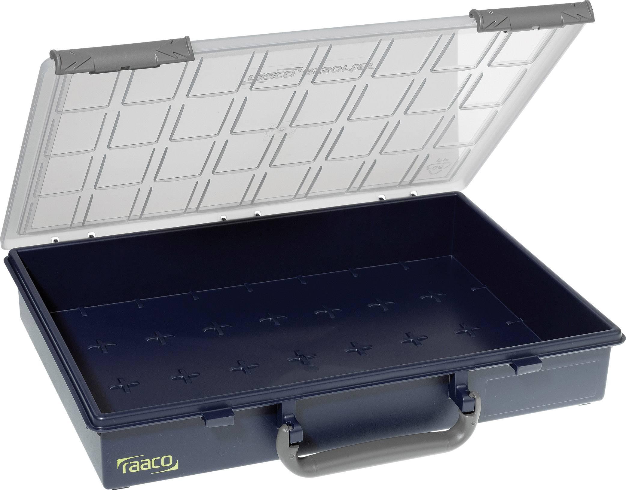 raaco Assorter 55 4x8-0 sortirni zabojnik (D x Š x V) 338 x 261 x 57 mm Število predalov: 1   1 kos
