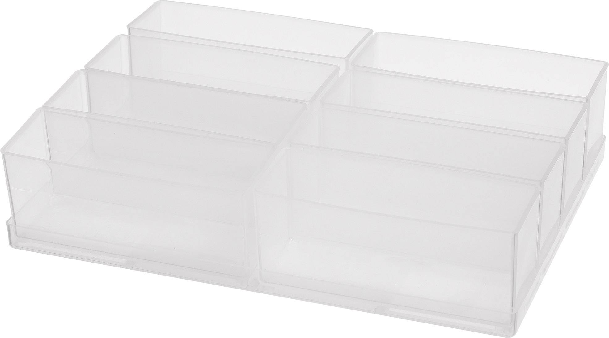 raaco  sortirni kovček-vložek (D x Š x V) 220 x 160 x 47 mm Število predalov: 8   1 kos