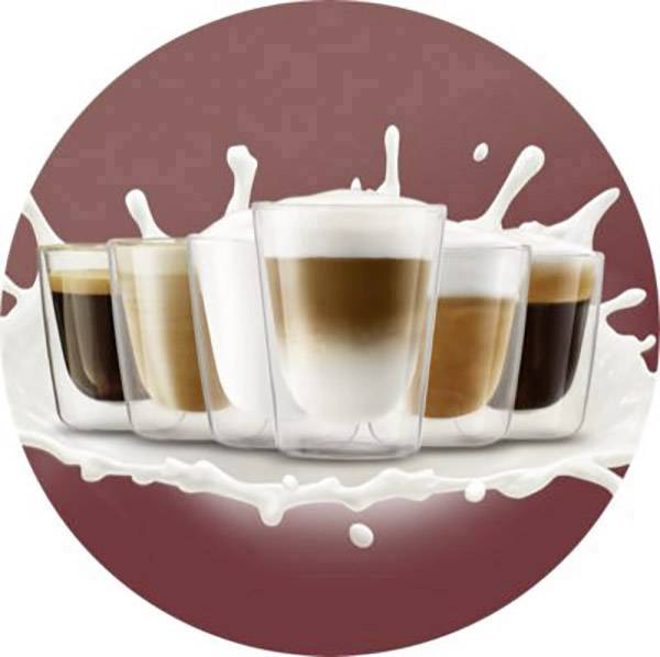 SENSEO® HD6574/50 Latte Duo Plus HD6574/50 kavni aparat antracitna s posodo za mleko
