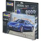 Revell 67034 Porsche Panamera Turbo model avtomobila, komplet za sestavljanje 1:24