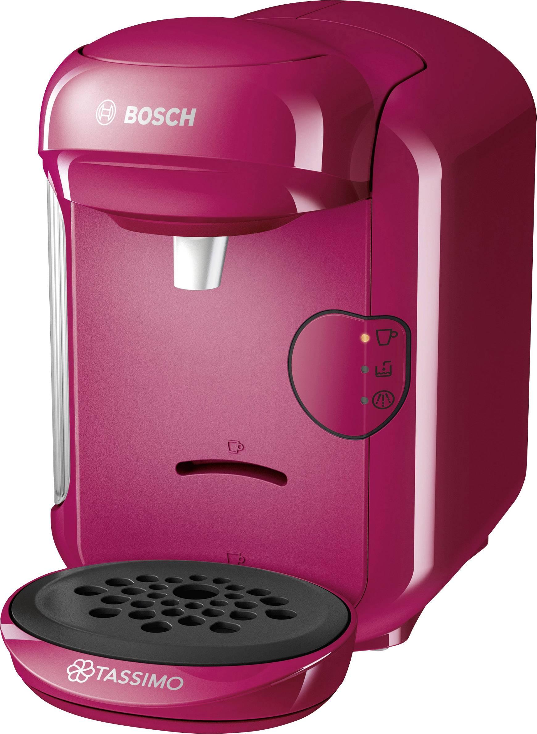 Bosch Haushalt Tassimo VIVY 2 TAS1401 kavni avtomat na kapsule roza one touch