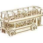 Wooden City  Leseni londonski avtobusni komplet 502326