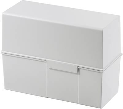 HAN  975-11 škatlica za kartice svetlo siva Maks. število kartic: 500 kartic din a5 prečno