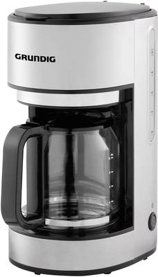 Grundig KM 5620 kavni aparat legirano jeklo, črna  Kapaciteta skodelice=10 stekleni vrč, toplotna funkcija