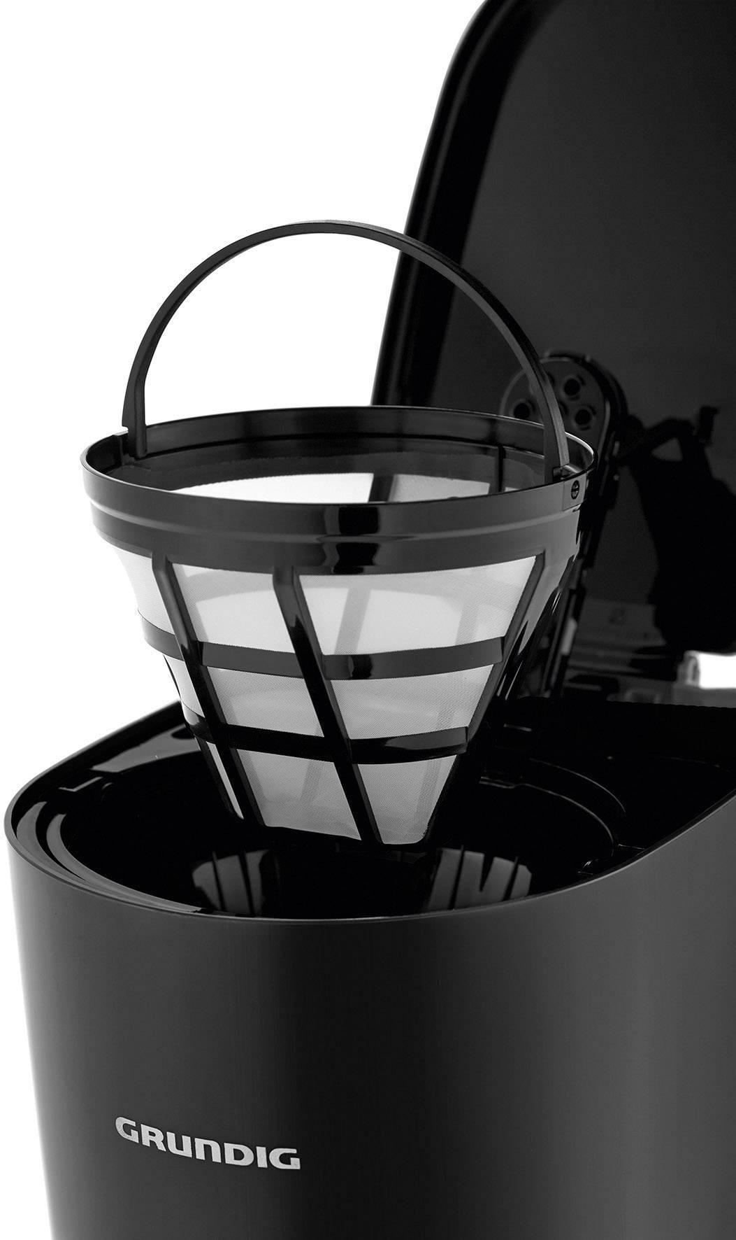 Grundig KM 4620 kavni aparat črna  Kapaciteta skodelice=10 stekleni vrč, toplotna funkcija