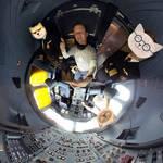 360 ° posnetek za kamero PanoClip za iPhone 7 in 8