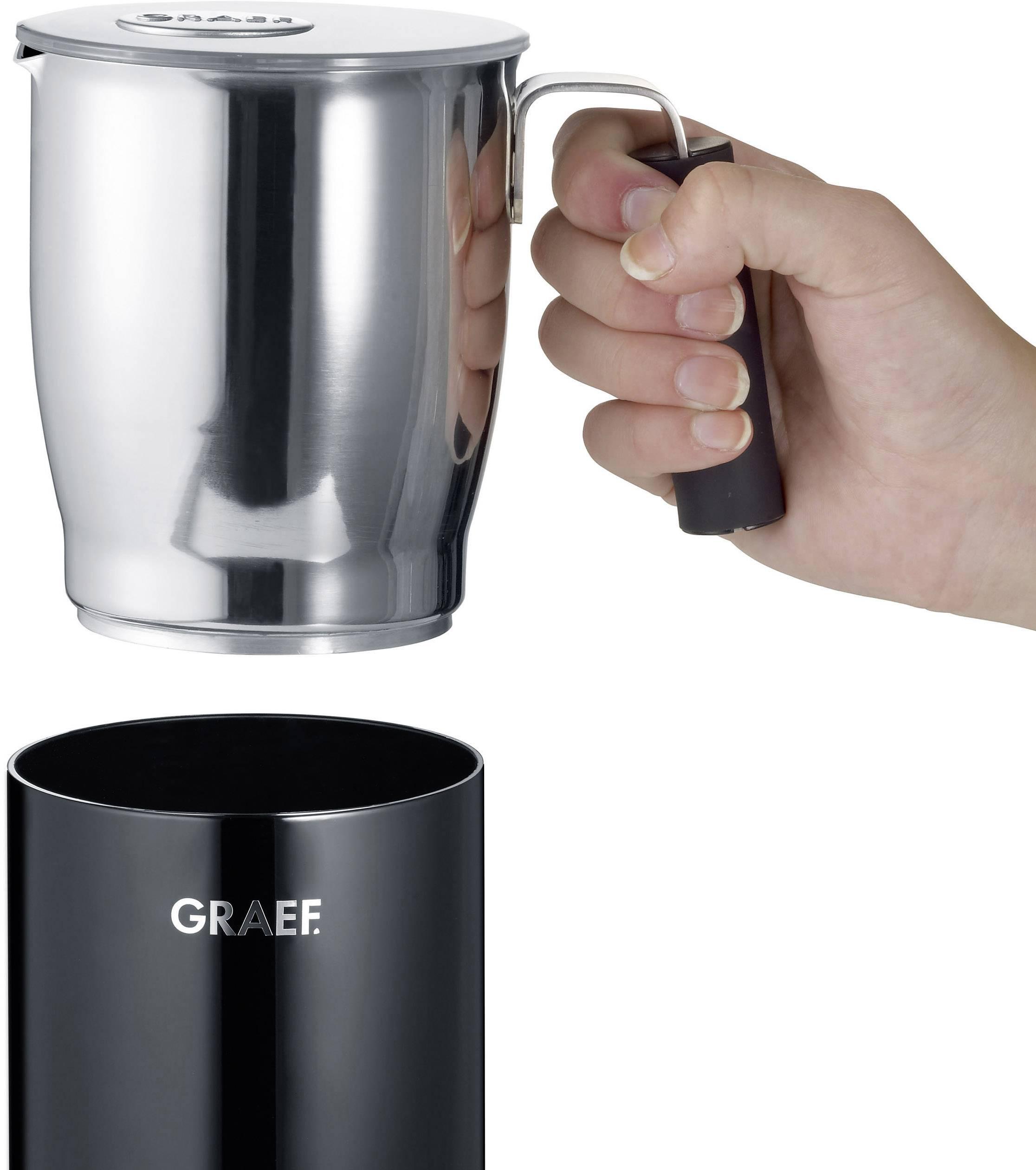 Graef MS702EU MS702EU naprava za penjenje mleka črna 450 W