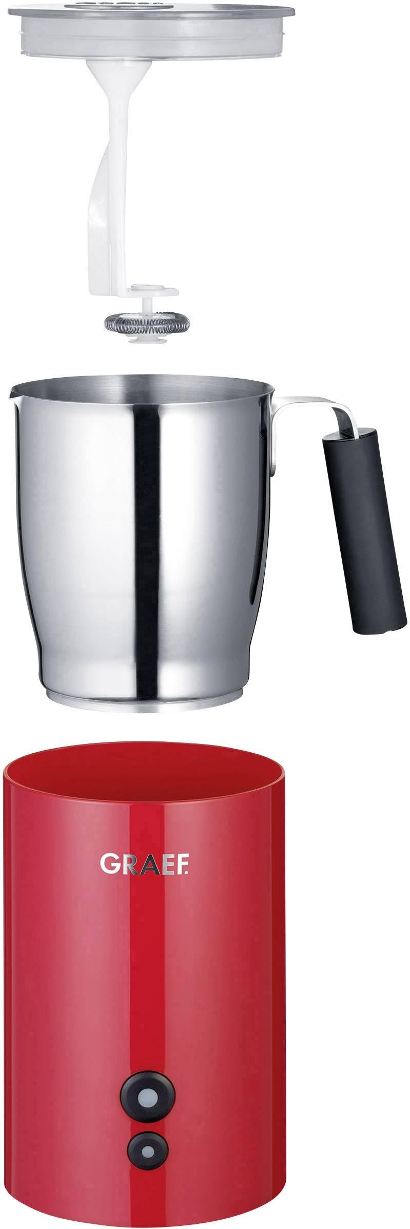Graef MS703EU MS703EU naprava za penjenje mleka rdeča 450 W