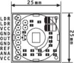 B + B Thermo-Technik modul pir senzorja gibanja PIR-LP 5 V/DC 3 - 5 V/DC (D x Š x V) 20 x 25 x 25 mm 1 kos