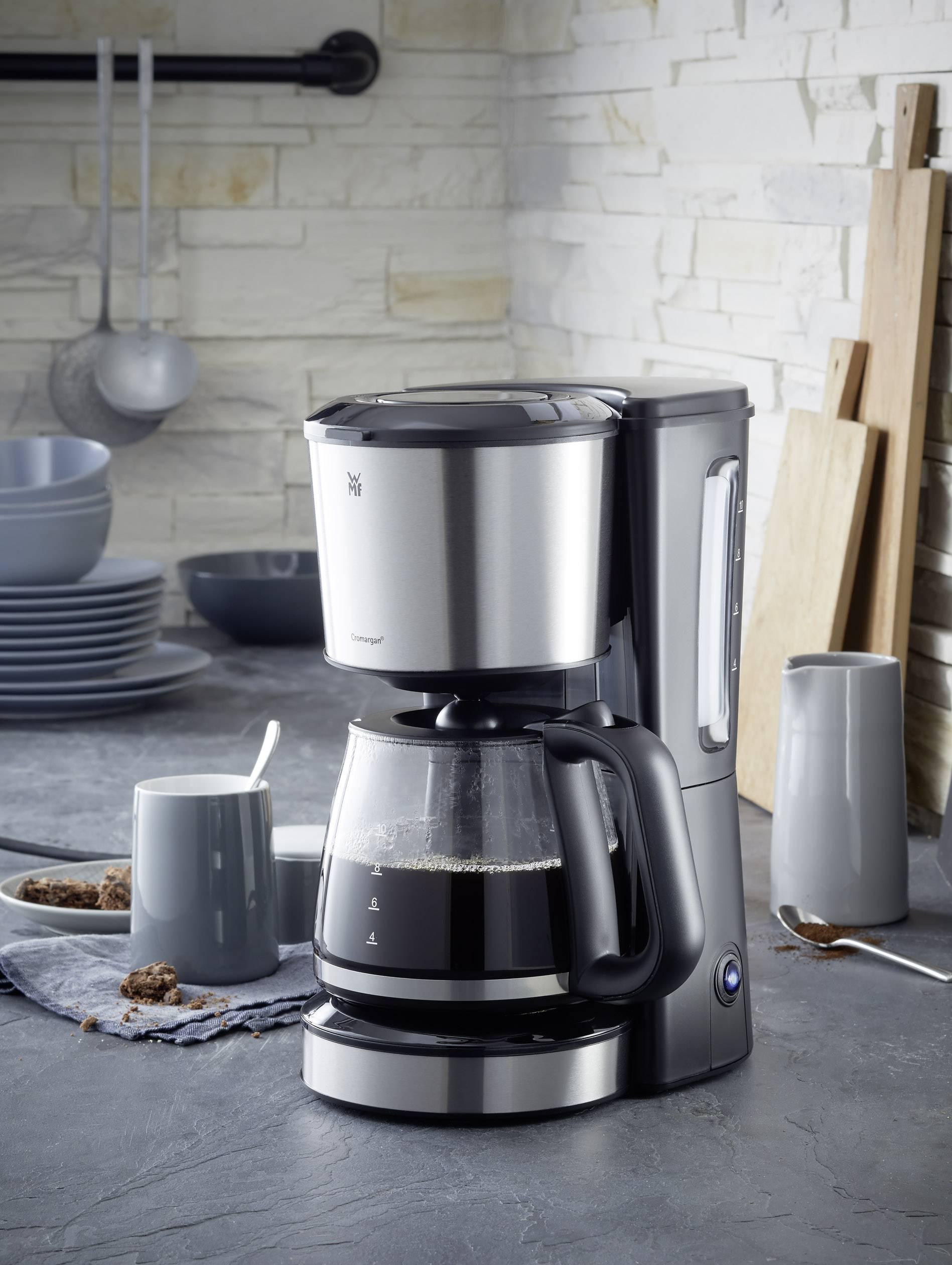 WMF 412250011 kavni aparat srebrna (mat), črna  Kapaciteta skodelice=10