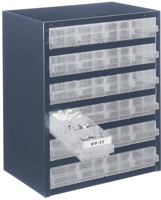 raaco 250/24-1 magazin za majhne dele (Š x V x G) 357 x 435 x 255 mm Število predalov: 24   1 kos