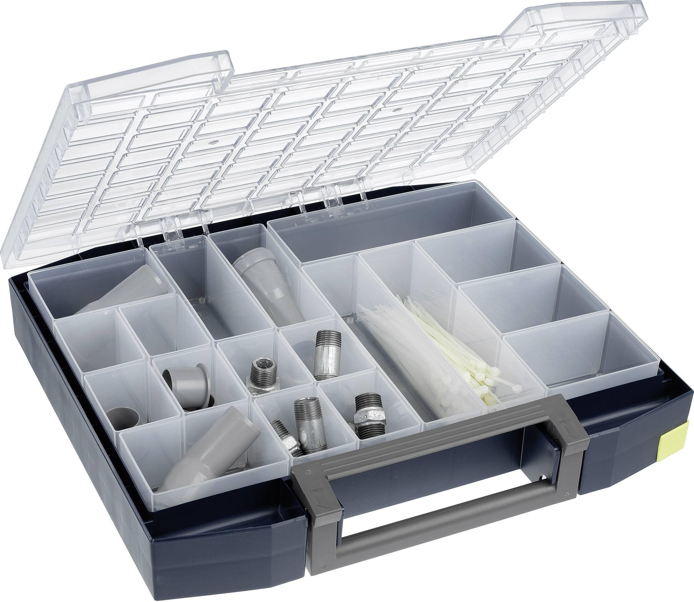 raaco Boxxser 80 8x8-18 sortirni kovček (Š x V x G) 465 x 78 x 401 mm Število predalov: 18   1 kos