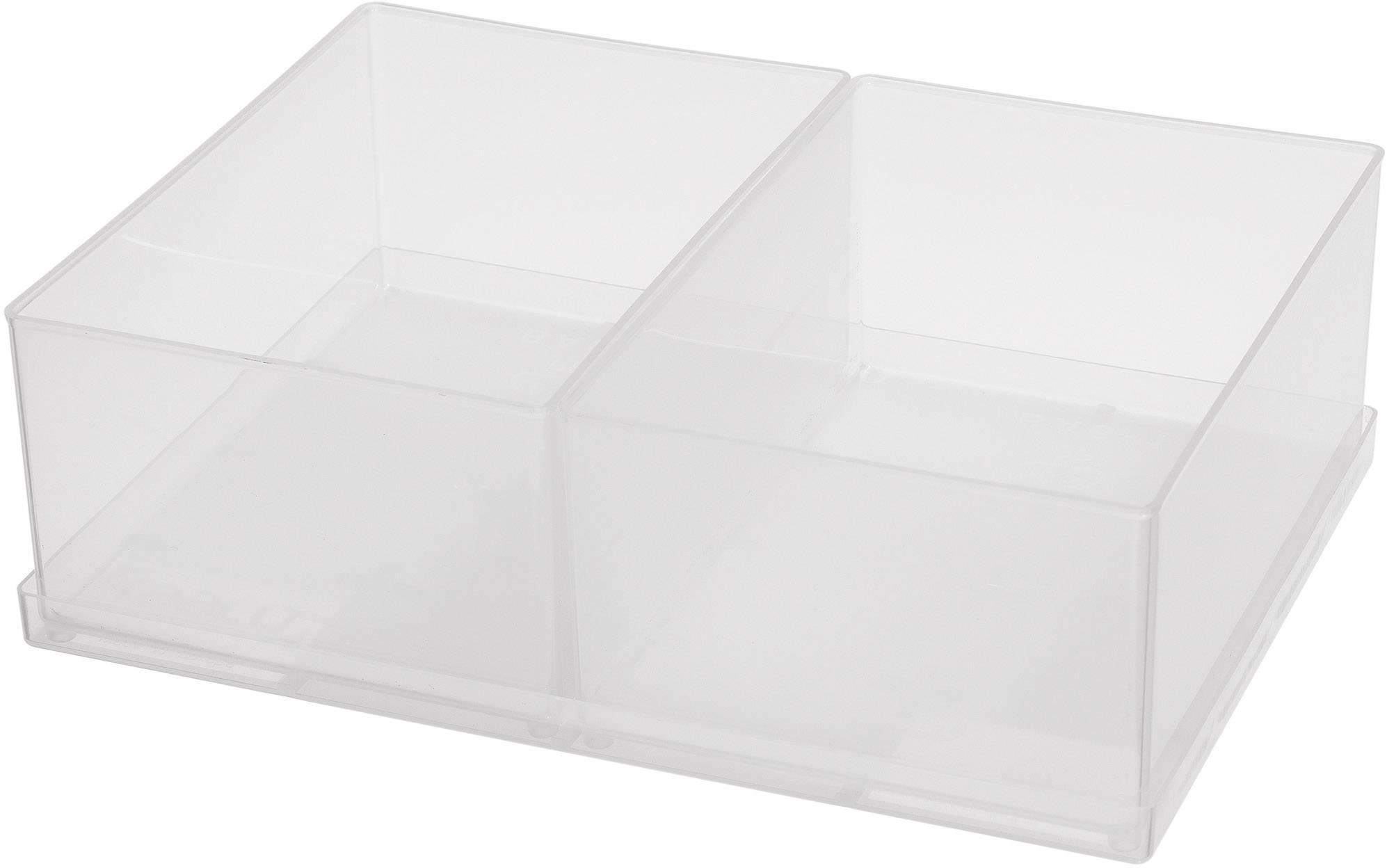 raaco 80 2xBA6-1 sortirni kovček-vložek (Š x V x G) 220 x 69 x 160 mm    1 kos