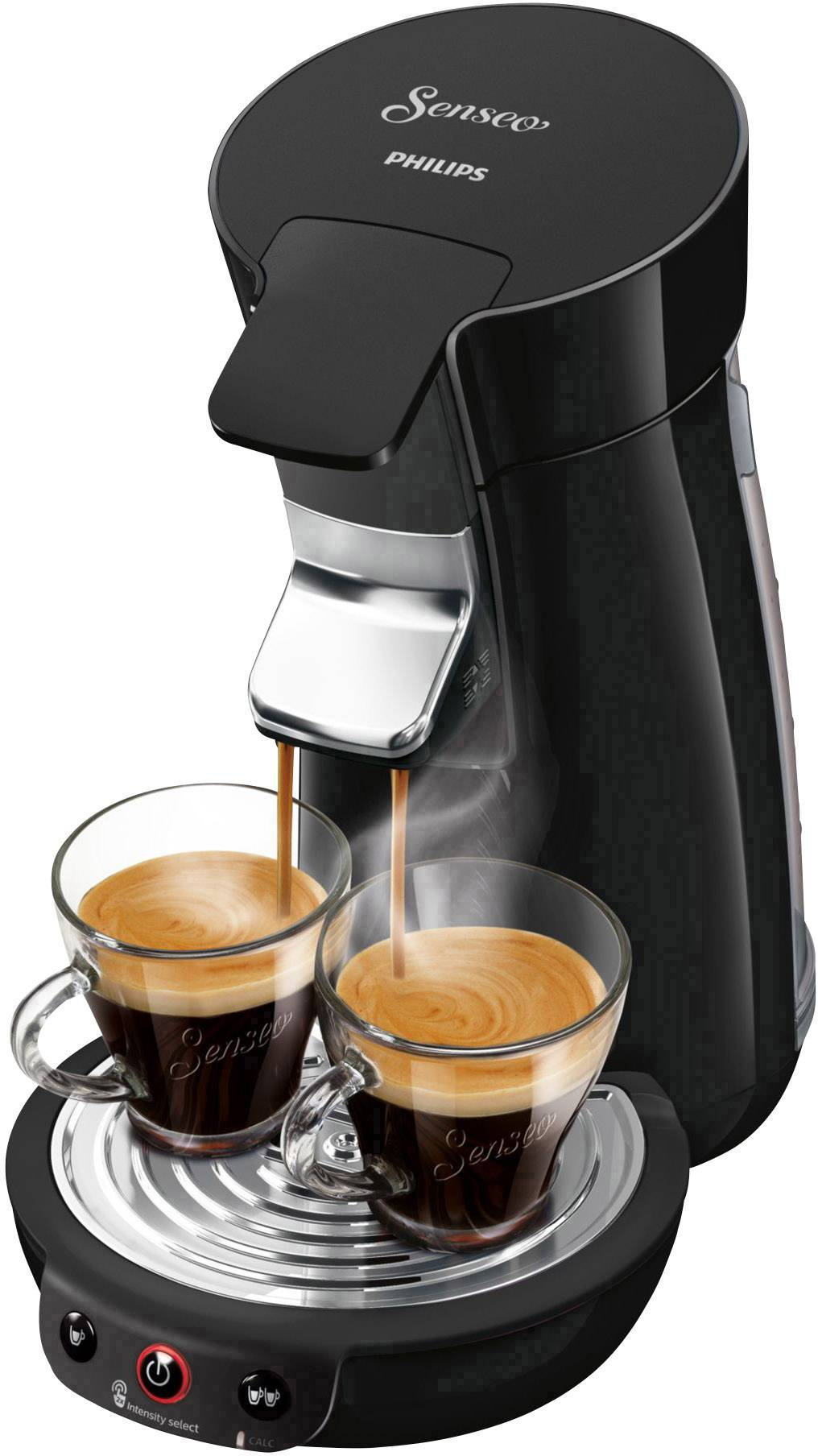 SENSEO® Viva Café HD6563/60 kavni aparat črna po višini nastavljiv izliv kave