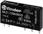 Finder 34.51.7.024.0310 rele za tiskano vezje 24 V/DC 6 A 1 menjalo 1 kos
