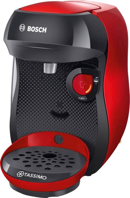 Bosch Haushalt Happy TAS1003 kavni avtomat na kapsule rdeča