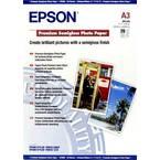Epson Premium Semigloss Paper A3  C13S041334 foto papir din a3 251 g/m² 20 List svilnato sijajni