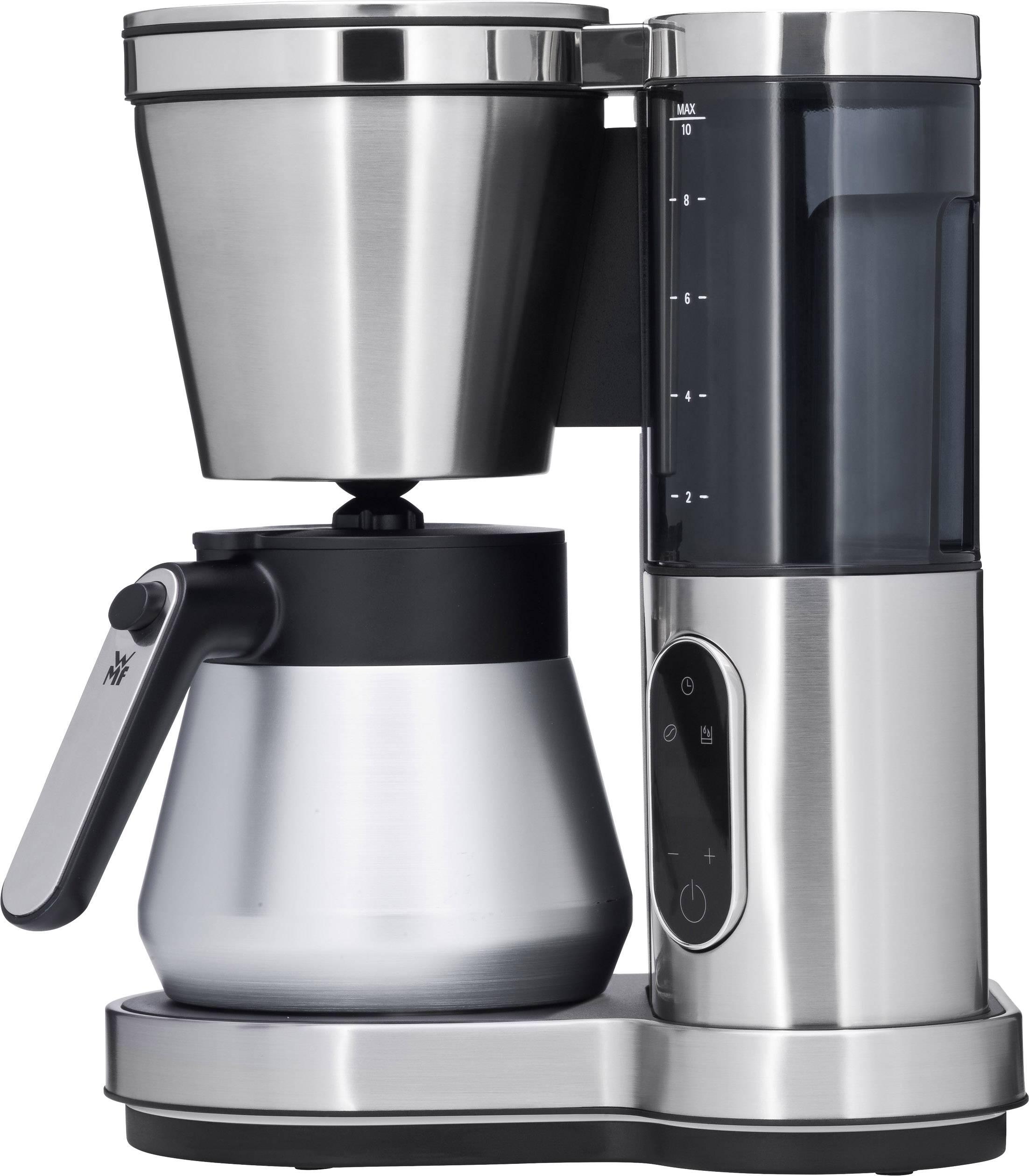 WMF LUMERO Thermo kavni aparat srebrna, črna  Kapaciteta skodelice=8