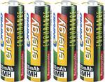 Naprava za polnjenje in vzdrževanje akumulatorskih baterij IPC-1L + 8 akumulatorskih baterij Endurance tipa AA