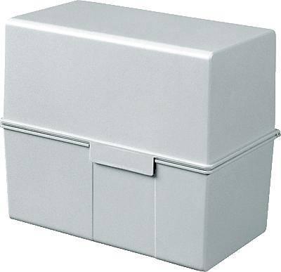 HAN Škatla za kartice DIN A6 horizontalen/976-11 siva, plastika