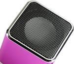 mini zvočnik Technaxx MusicMan Mini aux, sd, USB roza