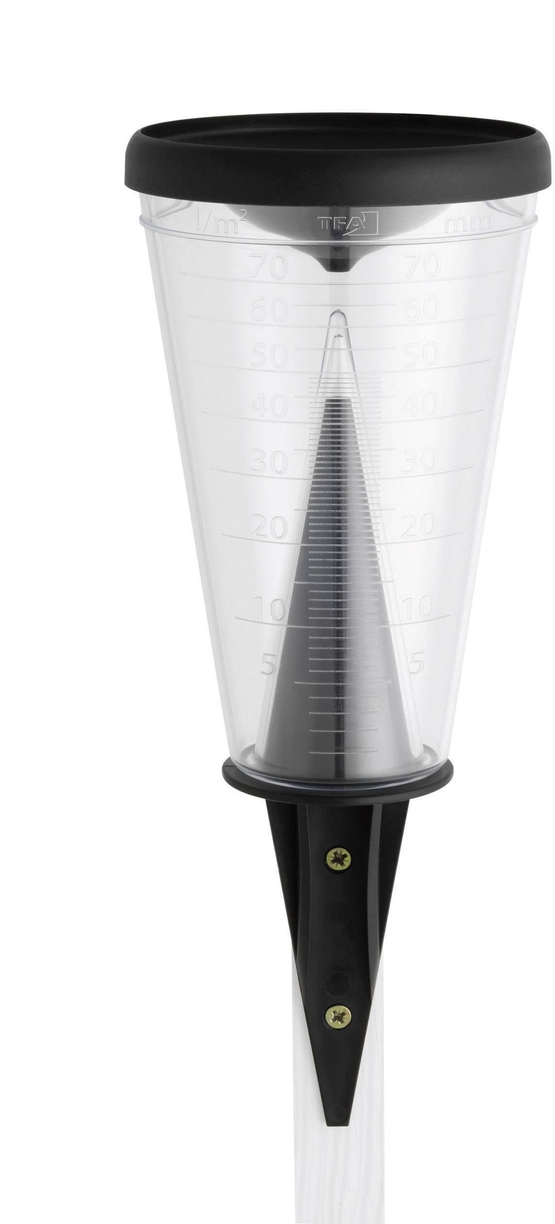 Merilnik dežja TFA 47.1008, umetna masa