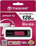 Transcend USB ključ 128GB Jetflash 760