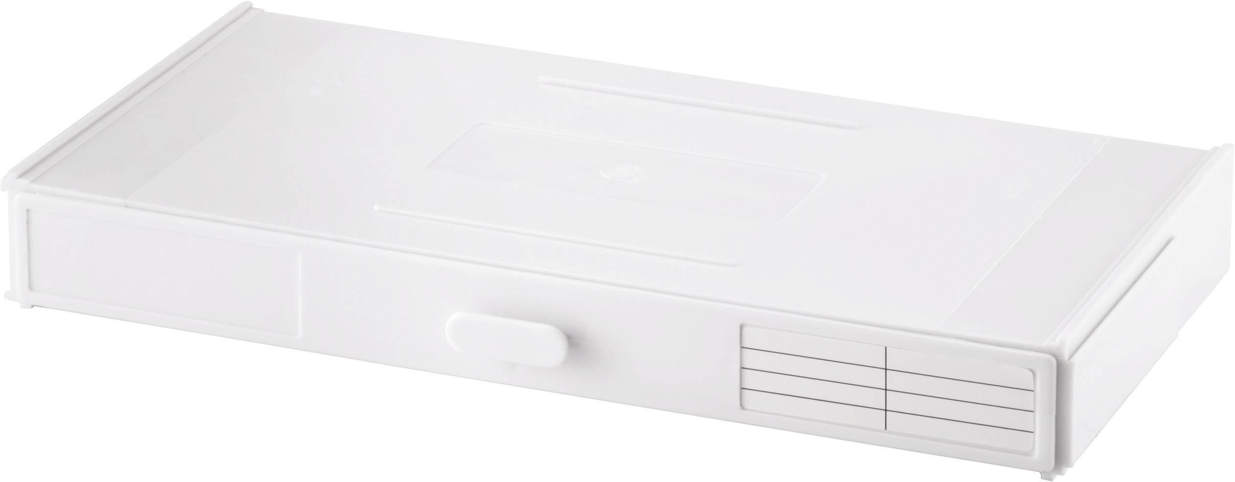 TRU COMPONENTS  sortirni zabojnik (D x Š x V) 264.8 x 33.5 x 138 mm Število predalov: 12 trdna pregrada  1 kos