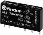 Finder 34.51.7.005.0010 rele za tiskano vezje 5 V/DC 6 A 1 menjalo 1 kos