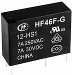 Hongfa HF46F-G/005-HS1 rele za tiskano vezje 5 V/DC 10 A 1 zapiralo 1 kos
