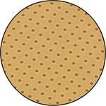 Trda papirna perforirana plošča