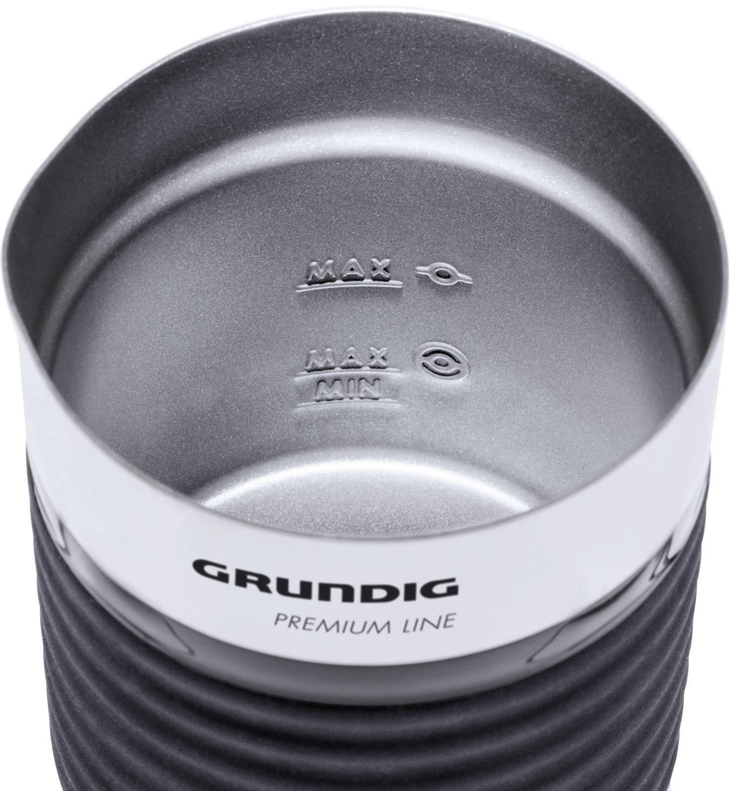 Indukcijska naprava za penjenje mleka Grundig MF 5260 črne barve