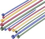 Barvne kabelske vezice, komplet