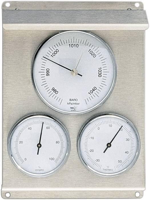 Analogna vremenska postaja TFA 20.2010.60 legirano jeklo, notranja in zunanja uporaba