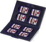 Hama 00095973 ovitek za pomnilniško kartico sdhc-kartica, sd-kartica, sdxc-kartica črna