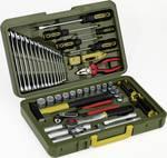 Avtomobilski in univerzalni kovček za orodje, 43-delni komplet