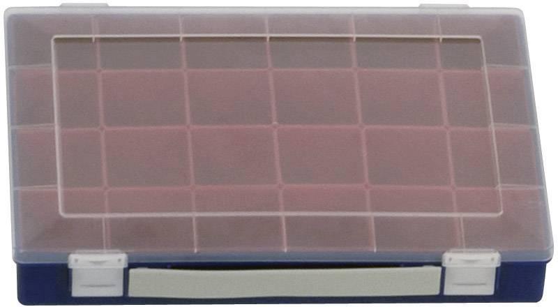 Hünersdorff  sortirni kovček (D x Š x V) 332 x 232 x 55 mm Število predalov: 24 variabilna pregrada  1 kos