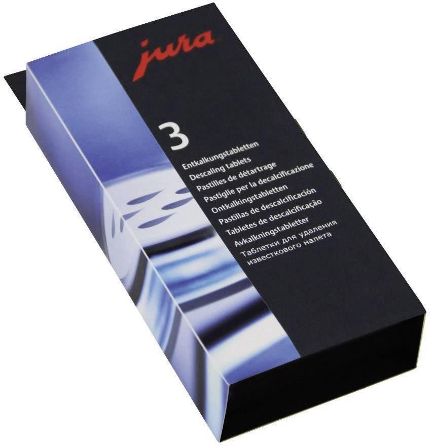 Tablete za odstranjevanje vodnega kamna Jura, 3 x 3 kosi 61848