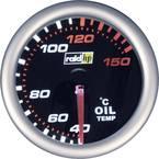 raid hp 660242 inštrument za avtomobil za vgradnjo prikaz temperature olja Merilno območje 40 - 150 °C nightflight bela,