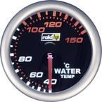 raid hp 660244 inštrument za avtomobil za vgradnjo prikaz temperature vode Merilno območje 40 - 150 °C nightflight bela,